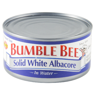 bumble bee solid white